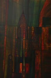 Chrysler 48 x 72 oil on canvas
