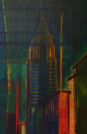 Empire State 48 x 72 oil on canvas