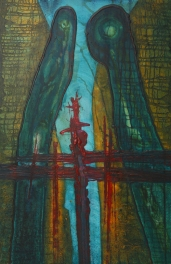 Island and Island 48 x 72 oil on canvas