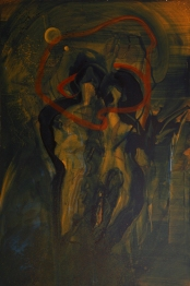 My Heaven 48 x 72 oil on canvas